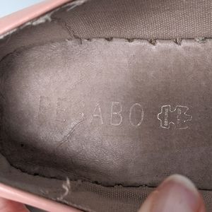 Pegabo Shoes - Pegabo Pink and Silver Leather Espadrille Flats